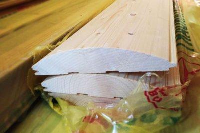 Блок-хаус 185х45 мм