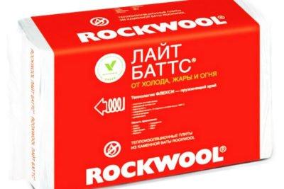 Rockwool Лайт Баттс 50х600 мм