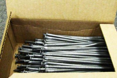 Строительные гвозди 5,0x150 мм