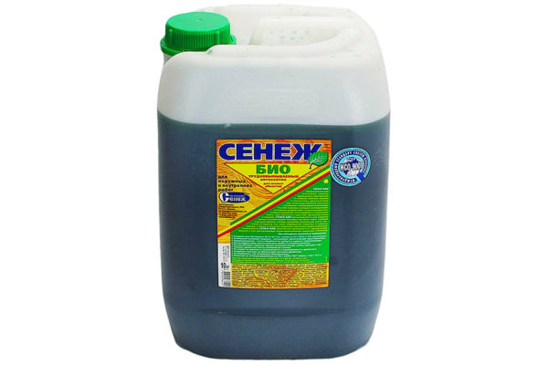 Огнебиозащита Сенеж био (зеленый) 10кг