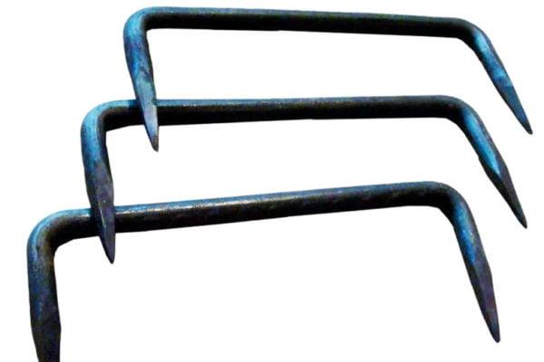 Скоба строительная 10х200 (75) мм