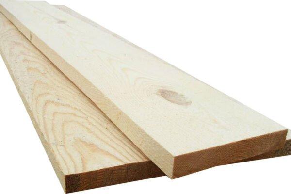 Обрезная доска из осины